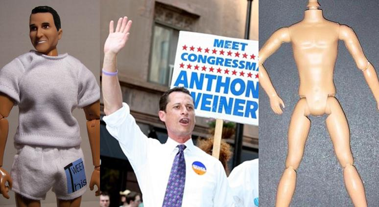 Anthony Weiner Action Figure
