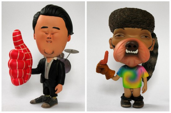 David Choe Toys by Wilfrid Wood