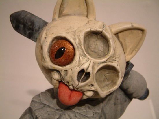 Custom Misfortune Cat by Chris Ryniak