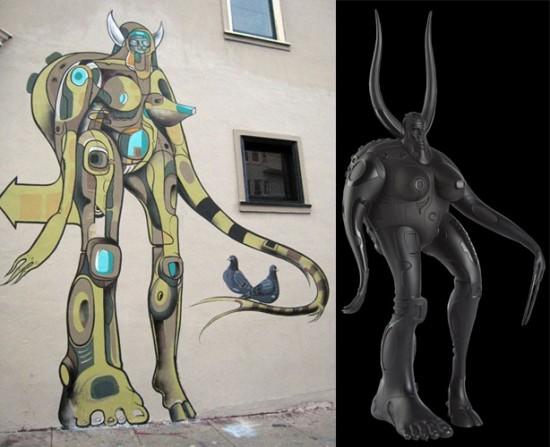 Kidrobot Black Doze Green Goddess