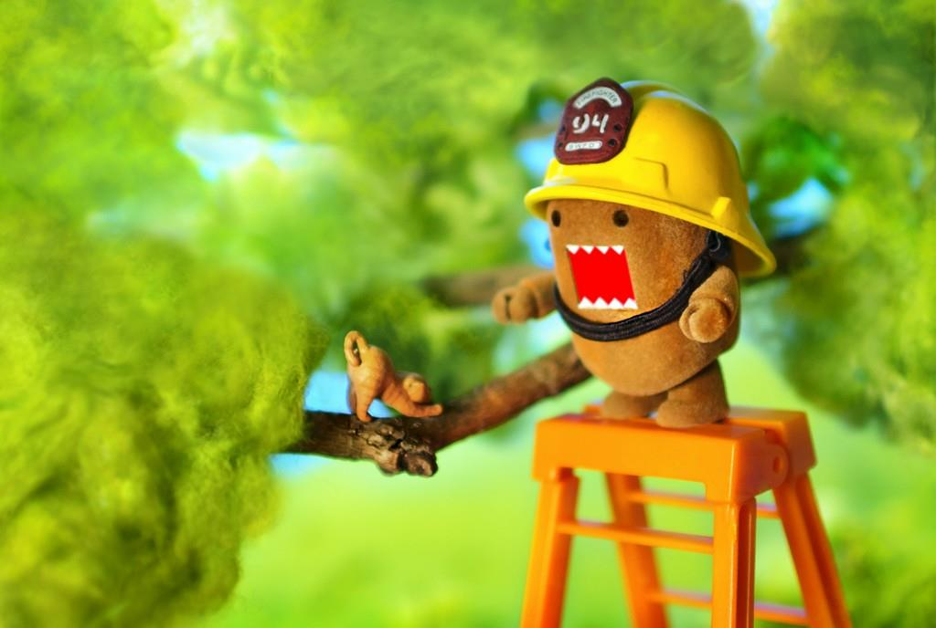 Fireman Domo by m4calliope