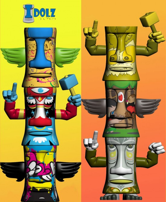 Idolz Toys Tiki Toys Artist Series