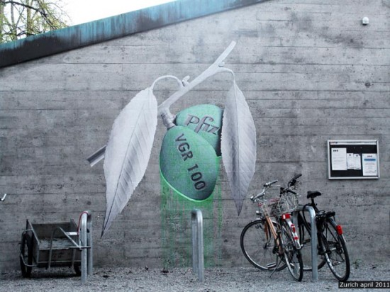 Cacktus Sculpture by French Street Artist LUDO