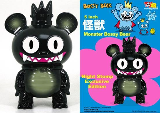 Night Stomp Monster Bossy Bear