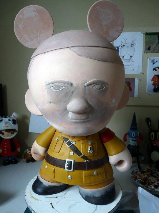 Hitler Toy by Okedoki