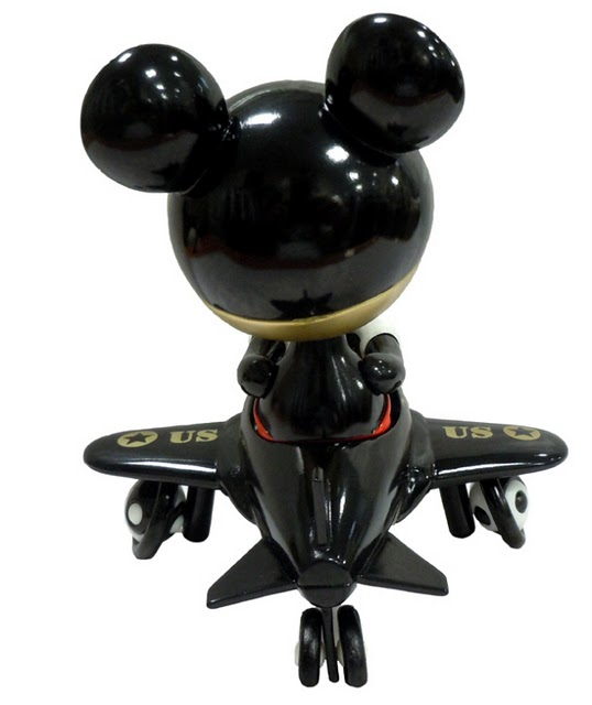 Ron English Mouse Mask Murphy Stealth Version