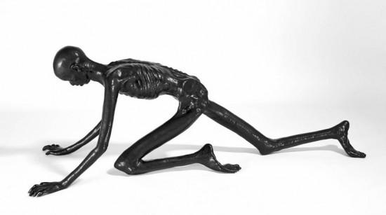 Thin Man Bench by Atelier Van Lieshout