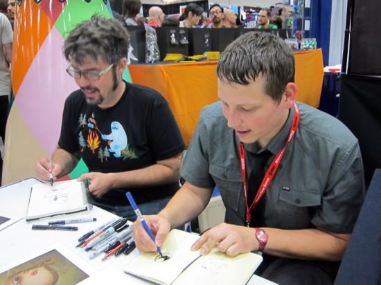 Brandt Peters and Chris Ryniak