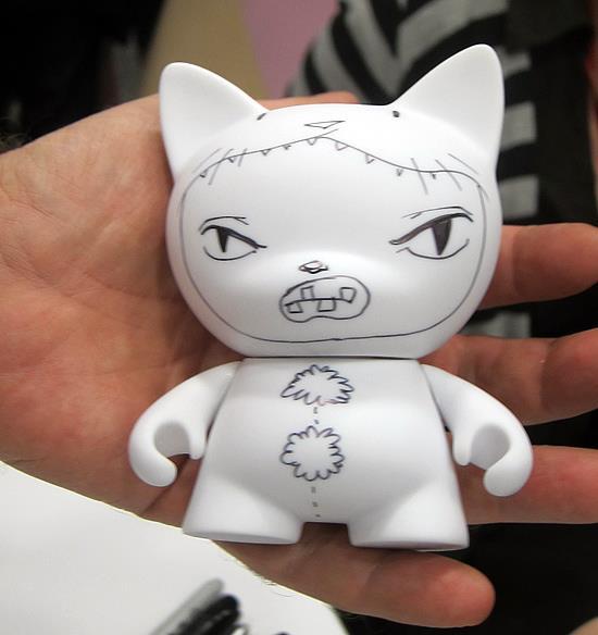 Kathie Olivas customized Munny