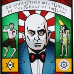 Aleister Crowley by Neal Fox