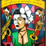 Billie Holiday by Neal Fox