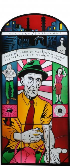 William S. Burroughs by Neal Fox