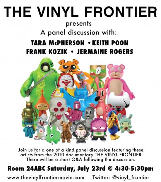 SDCC Vinyl Frontier Panel