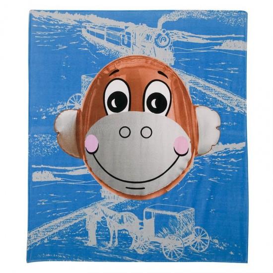 Jeff Koons contemporary art beach towel
