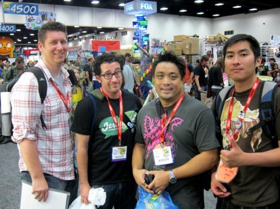 Rabble Rousers: Toypinionated, Jeremyriad, Toybotstudios, Rhinomilk