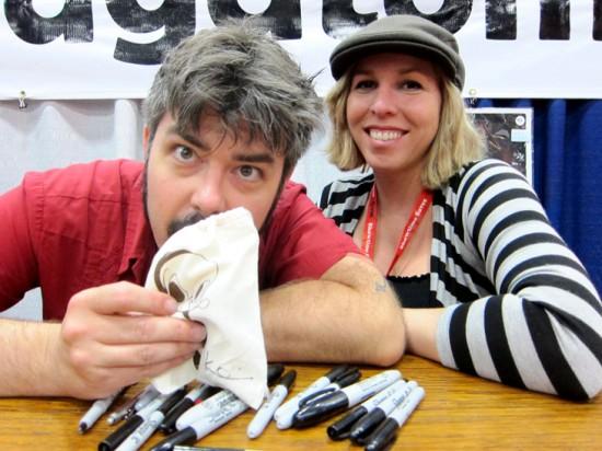 Brandt Peters & Kathie Olivas at Dragatomi