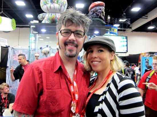Brandt Peters and Kathie Olivas