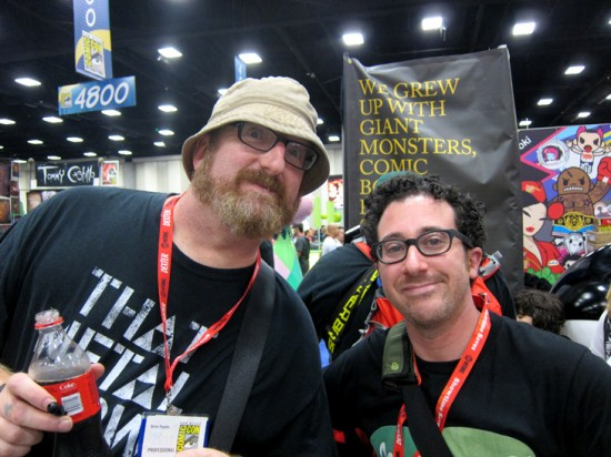 Brian Posehn and me!
