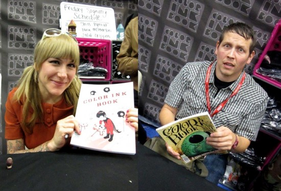 Tara McPherson and Chris Ryniak