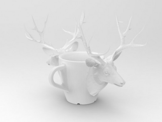 Deer 3D Printed Coffee Cups