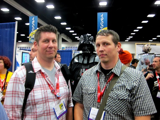 Darth Vader Photo Bomb