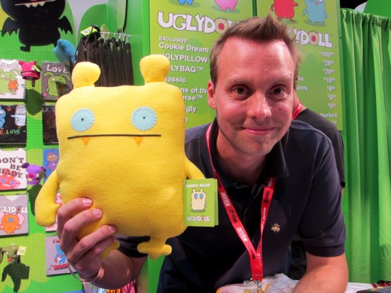 David Horvath of Uglydolls at SDCC 2011