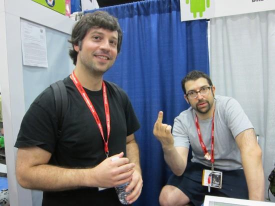 Scott Wilkowski and Dov Kelemer