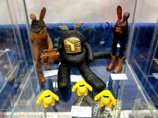 Newbies and oldies from Blamo Toys and Mikie Graham