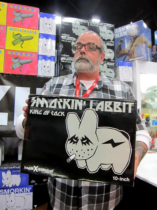 Frank Kozik at SDCC 2011