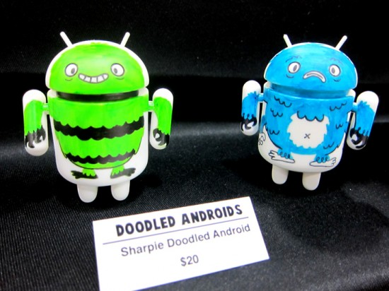 Gary Ham's Doodled Androids