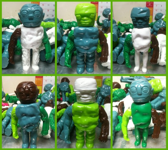 Grody Shogun's Mix and Match Monsters