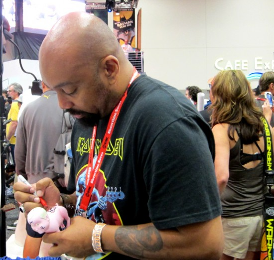 Jermaine Rogers at SDCC 2011