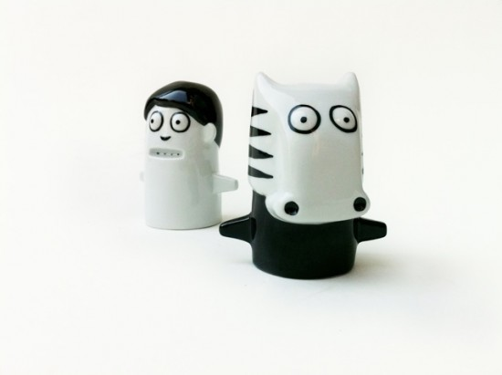 Kid Acne Salt and Pepper Shakers