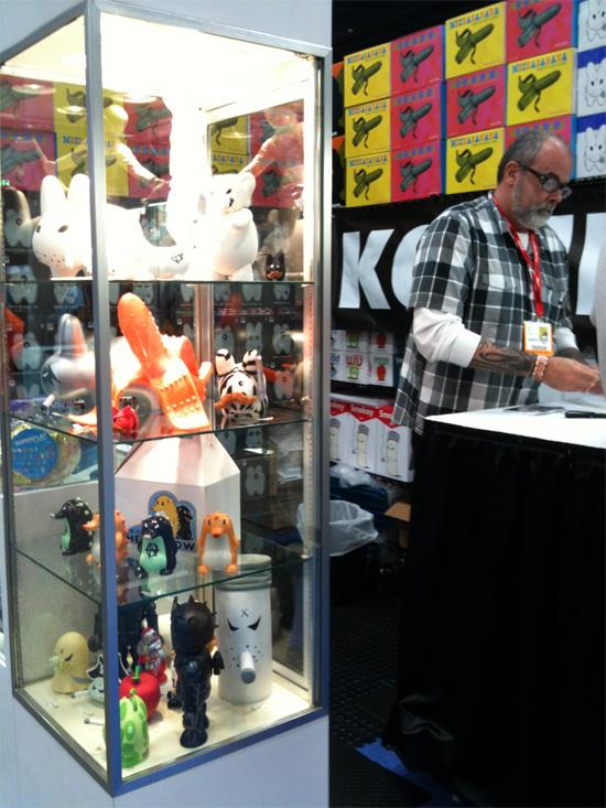 Heathrow the Hedgehog by Kozik x MAQET at SDCC 2011