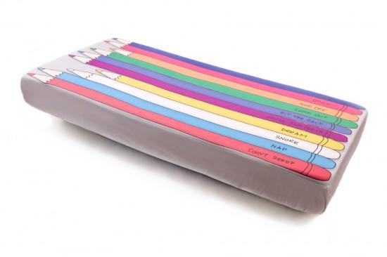 pencil bed