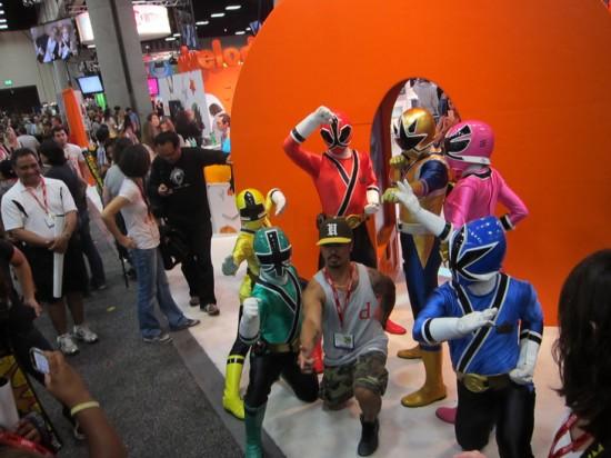 Power Rangers?