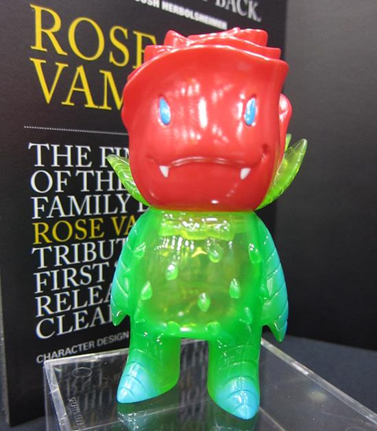 SDCC 2011 Rose Vampire by Josh Herbolsheimer and Super7
