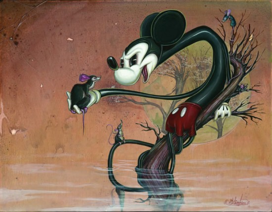 """Greg """"Craola"""" Simkins Mickey"""