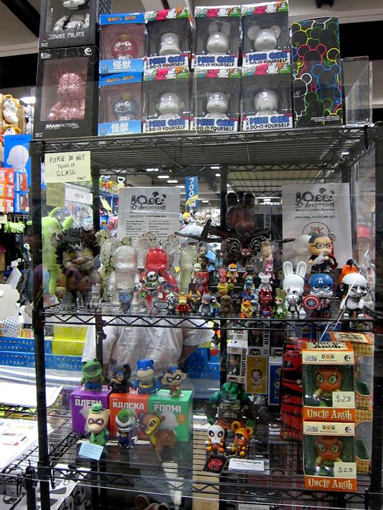 Toy2R at SDCC 2011