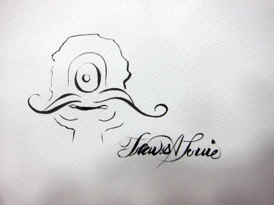 Sketch by Travis Louie