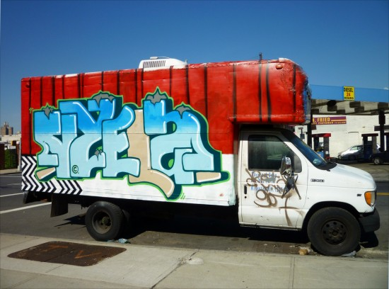 Twin Peaks graffiti