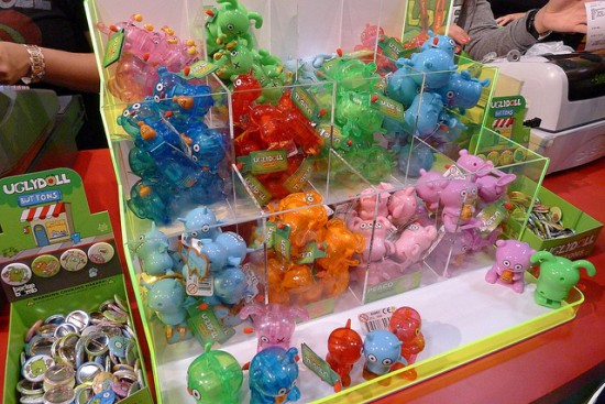 Uglydoll wind-up toys at SDCC 2011