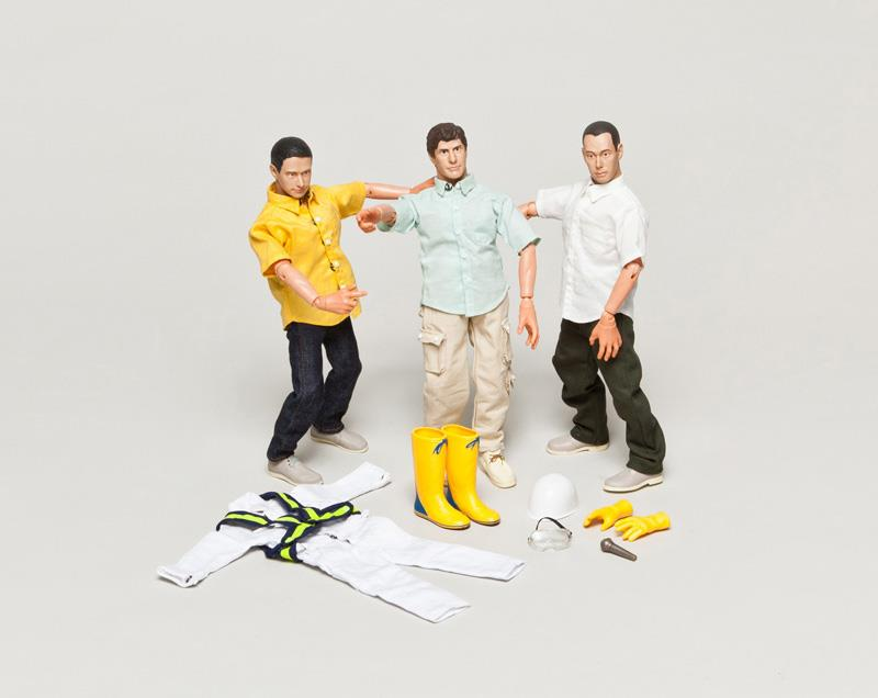Action Toys For Boys : Beastie boys action figures by bape
