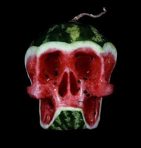 Skull Fruits by Dimitry Tsykalov