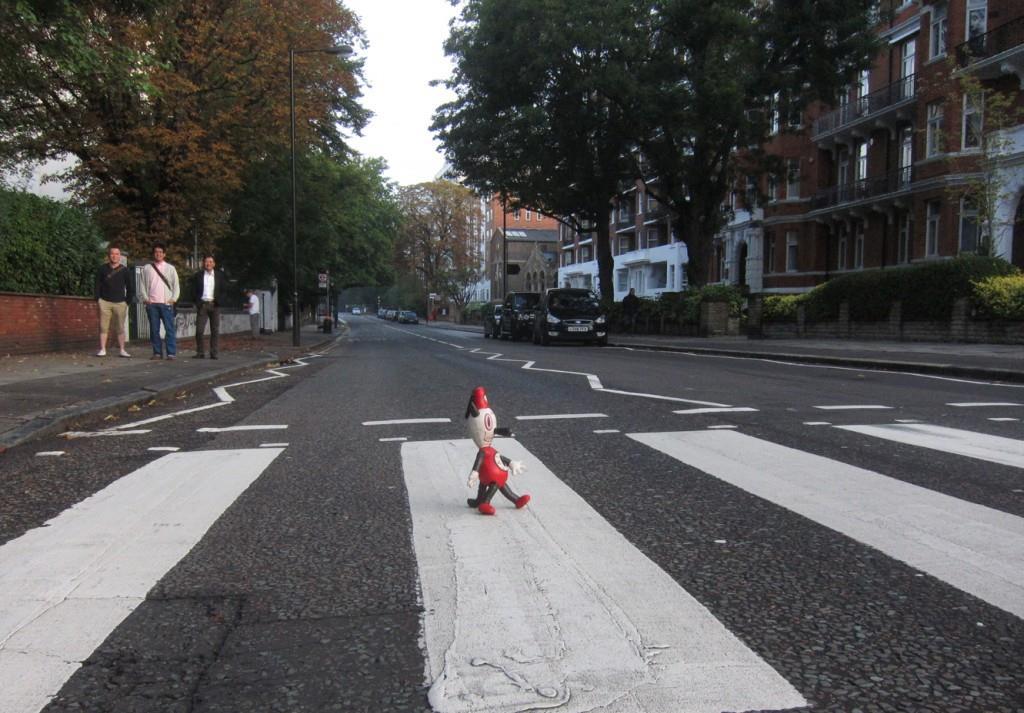 Toby Abbey Road