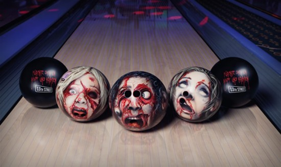 13th Street Horrifying Custom Bowling Balls