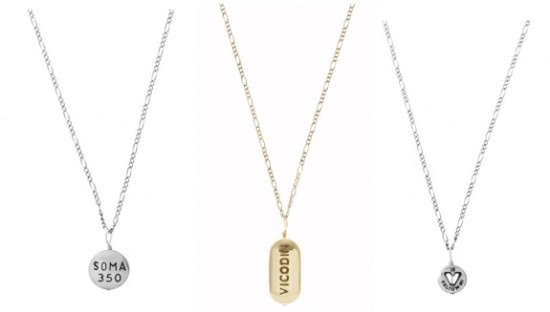 Drug Necklaces by Cast of Vices