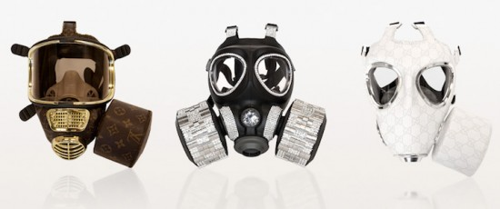 Designer Gas Masks by Diddo Velema