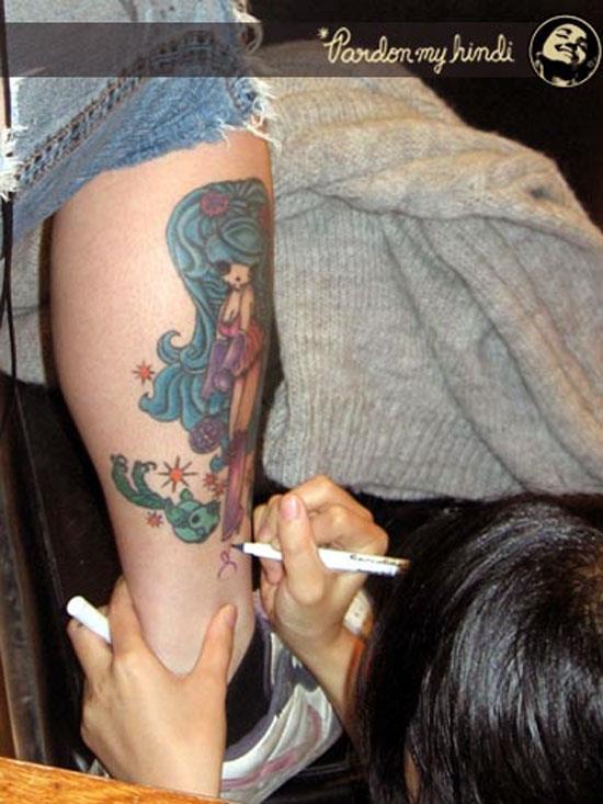 Junko Mizuno tattoo art