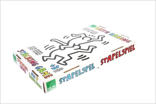 Keith Haring Stacking Game